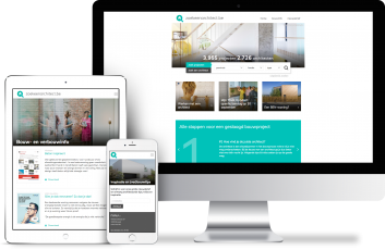 Portfolio website Zoek een Architect